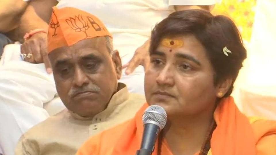 'Tortured in jail for confession': Sadhvi Pragya breaks down at Bhopal event