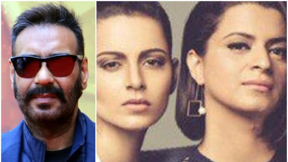 After Alia Bhatt, Kangana Ranaut's sister Rangoli sets her target on Ajay Devgn, says 'these men are intoxicated with money'