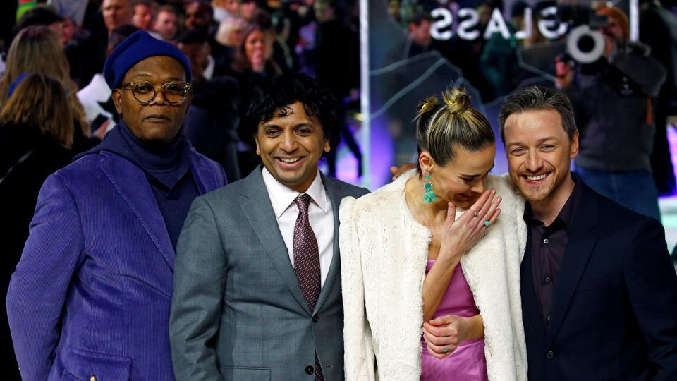 M Night Shyamalan says he cried after learning Glass was getting poor reviews
