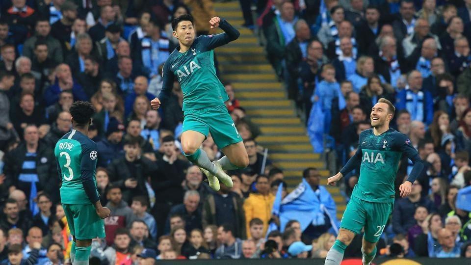 Tottenham Hotspur stun Manchester City to go through after seven-goal thriller, VAR drama | football