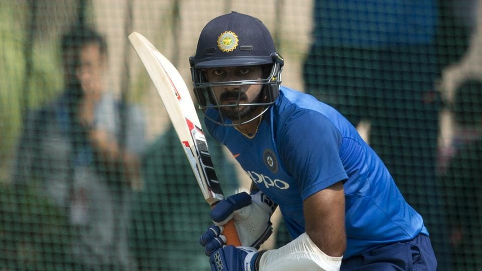 Vijay Shankar got the nod in the India squad for the ICC World Cup as the number 4 batsman.