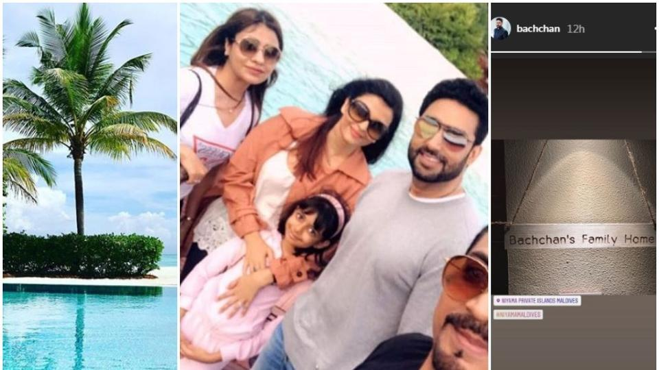 Aishwarya, Abhishek give vacay goals with Maldives trip