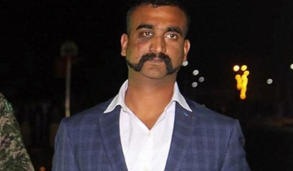 Indian Air Force (IAF) pilot Wing Commander Abhinandan Varthaman