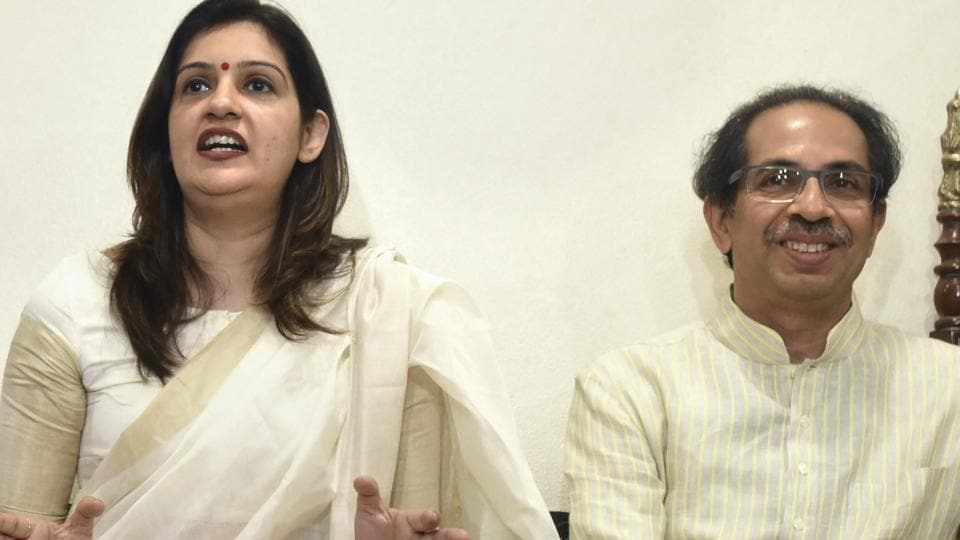 As far as her work with the Shiv Sena is concerned,  Priyanka said that anyone who comes to Mumbai or Maharashtra is automatically connected with the party.