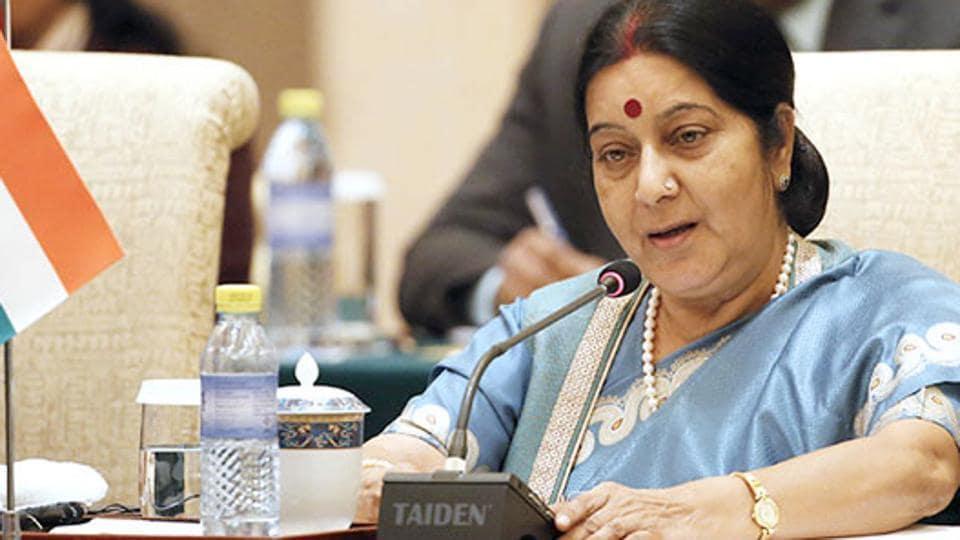 Sushma Swaraj,libya,External affairs minister sushma swaraj
