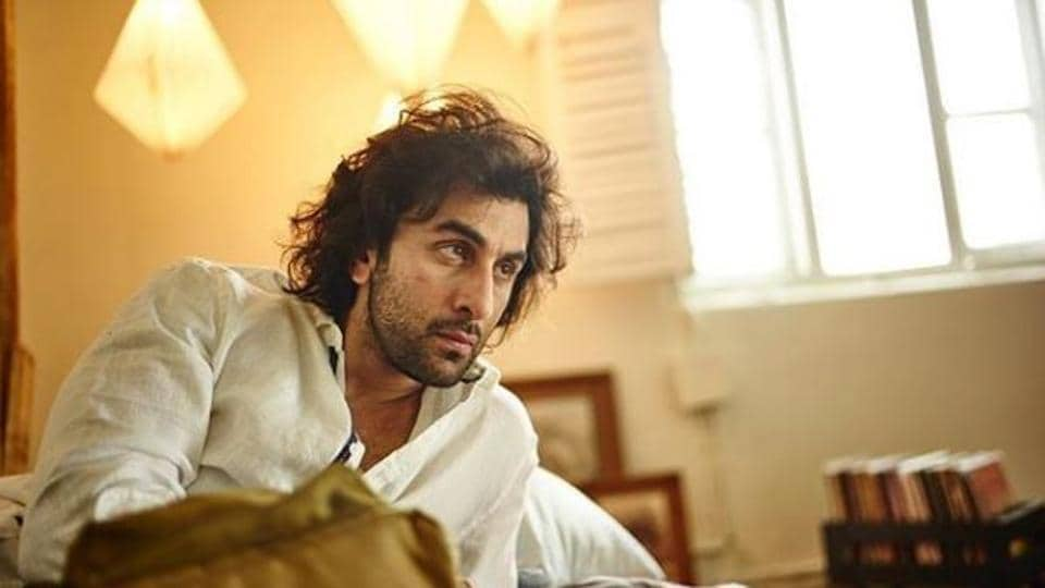 Ranbir Kapoor in a test look for the film Brahmastra.