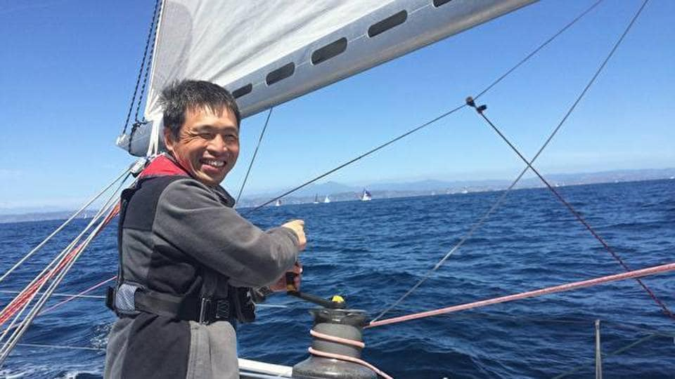 A blind Japanese sailor completed his non-stop Pacific voyage on Saturday, local media reported, becoming the first sightless person on record to navigate a vessel across the vast ocean.