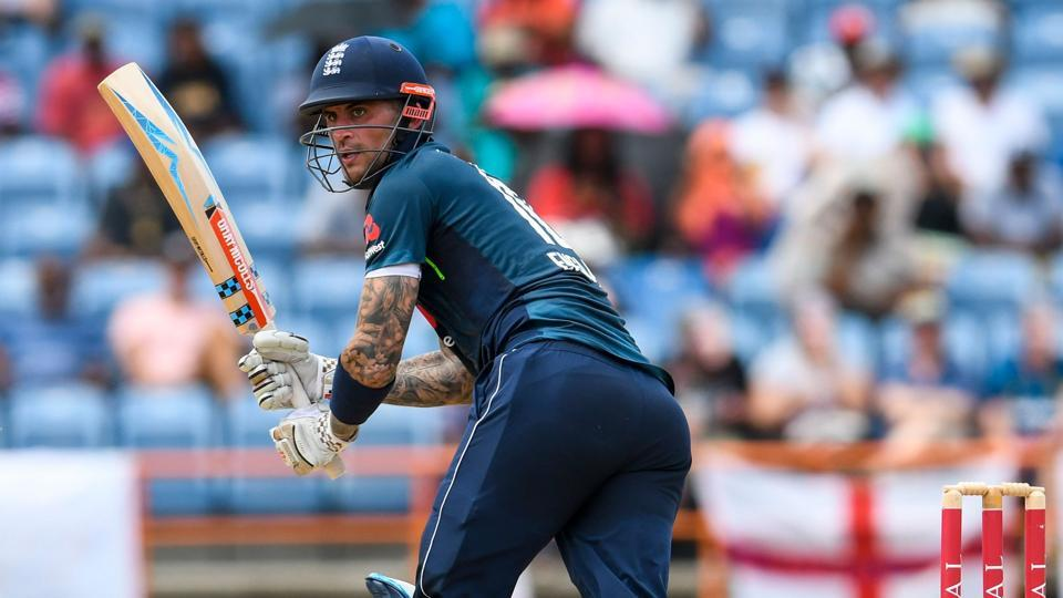Alex Hales of England has taken an indefinite break from citing personal reasons. (Photo by Randy Brooks / AFP)