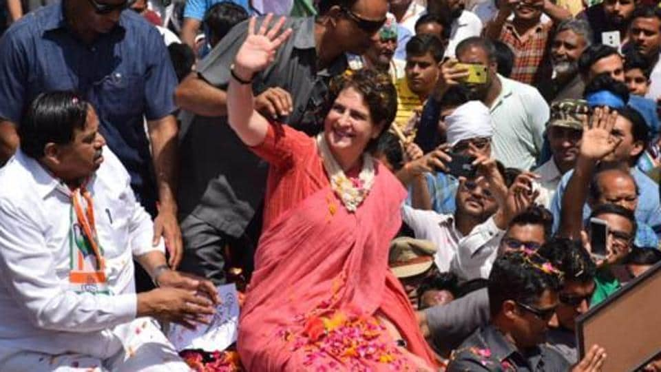 Referring to BJP leaders invoking Pakistan in their election speeches recently, Priyanka Gandhi said that they never speak about India.