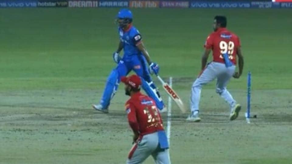 DC vs KXIP, IPL 2019: Shikhar Dhawan avoids getting 'Mankaded' by R Ashwin in a hilarious way – Watch