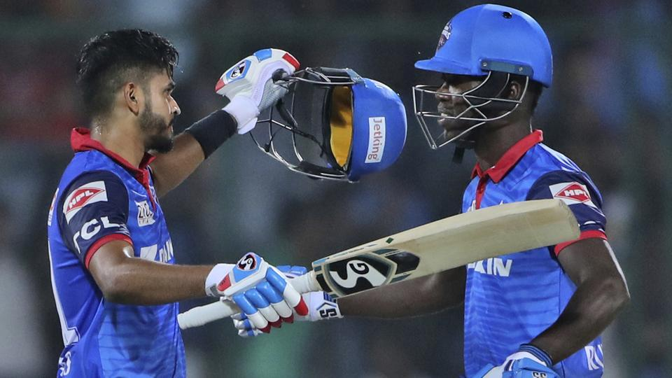DC vs KXIP:Dhawan, Iyer fifties take Delhi Capitals home after another Gayle blitz