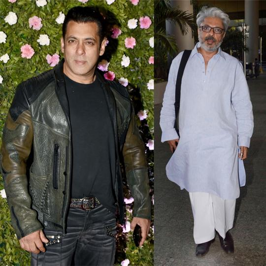 Actor Salman Khan is collaborating with filmmaker Sanjay Leela Bhansali for his forthcoming film.