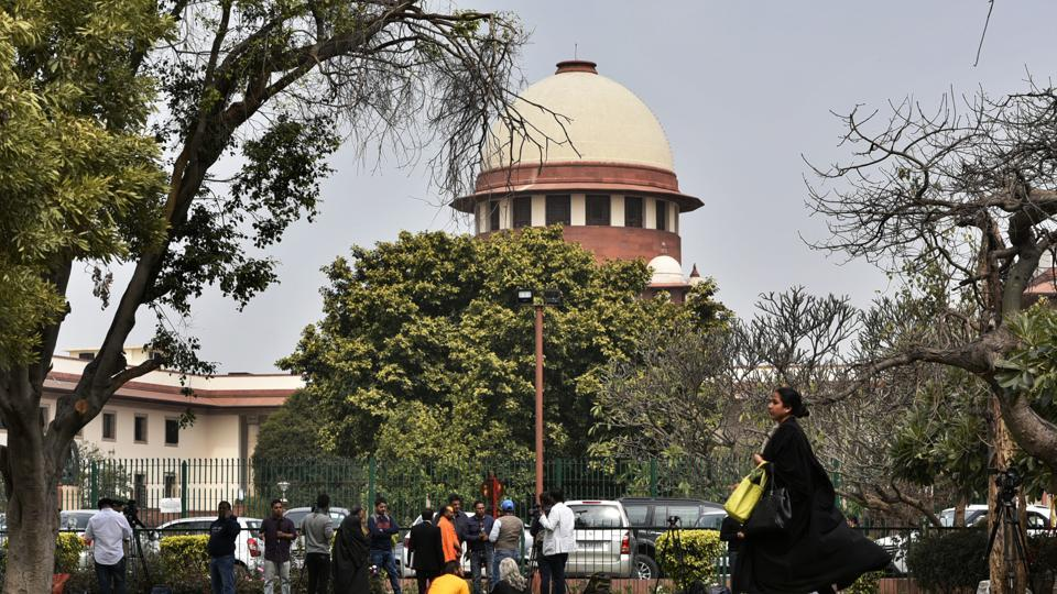 The Supreme Court will this week hear a series of important cases — the National Registry of Citizens for Assam, a criminal defamation case against Rahul Gandhi, whether or not a film on Modi can be released during the elections, and if the CBI should be allowed to arrest former Kolkata Police commissioner Rajeev Kumar — in the shadow of sexual harassment charges against Chief Justice of India Ranjan Gogoi. (Biplov Bhuyan / HT File)