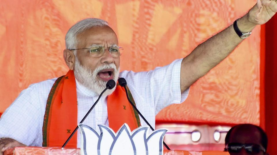 Targeting the UPA regime on national security issues, Prime Minister Narendra Modi Monday said his government took bold steps to counter terrorism, compared to the timid approach adopted by the Congress-led regime