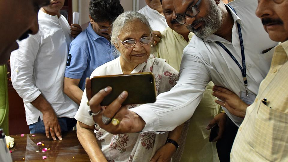 Sheila Dixit,India news,Congress