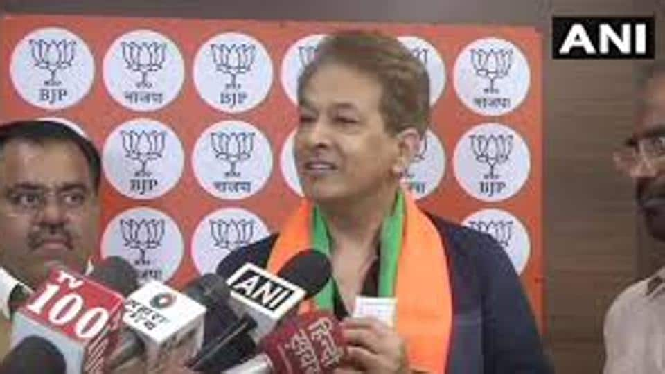 Celebrity hairstylist Jawed Habib joined the BJP on Tuesday.
