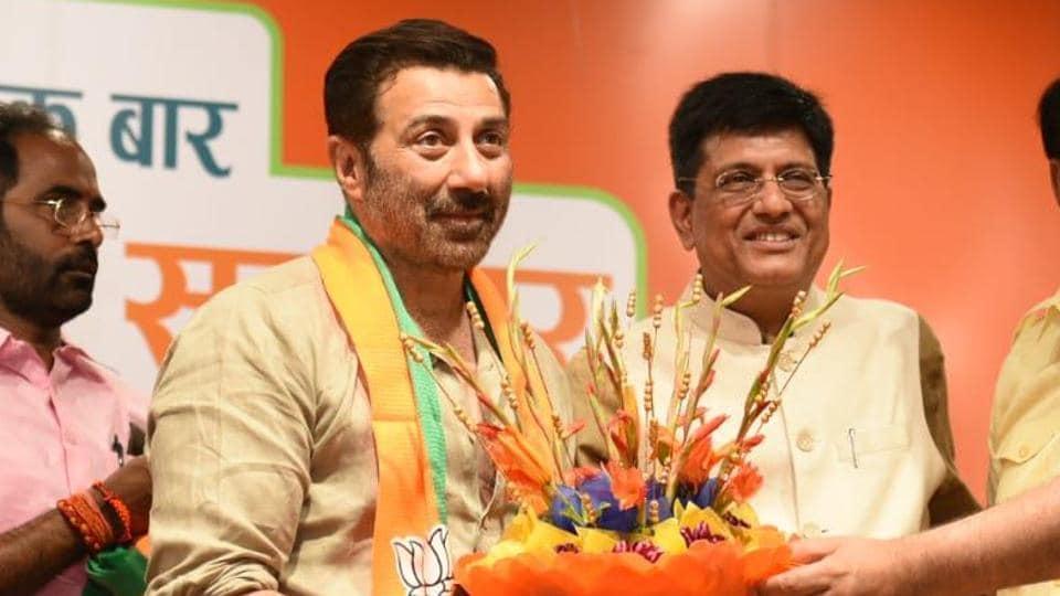 Bollywood actor Sunny Deol on Tuesday joined the Bharatiya Janata Party