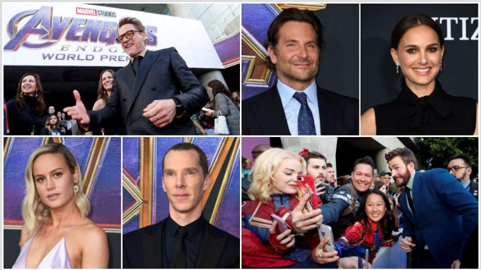 Avengers Endgame,Avengers Endgame Premiere,Avengers Endgame Red Carpet Pics