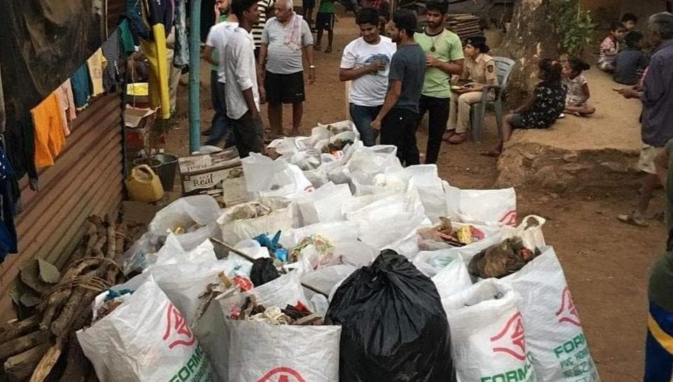 For the last three months, the residents of Chunapada inside the SGNP have been sending dry waste for recycling, while the wet waste is being turned into compost.