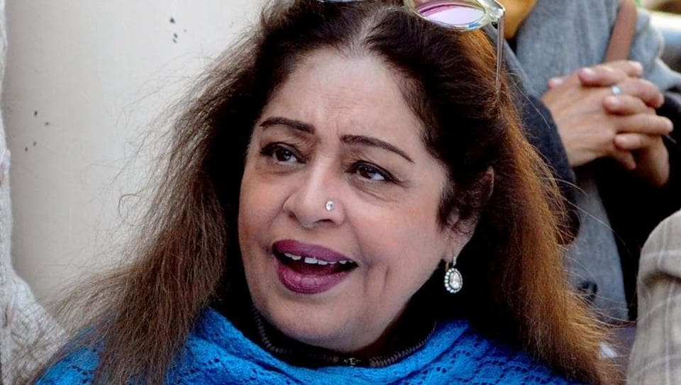 Chandigarh MP Kirron Kher