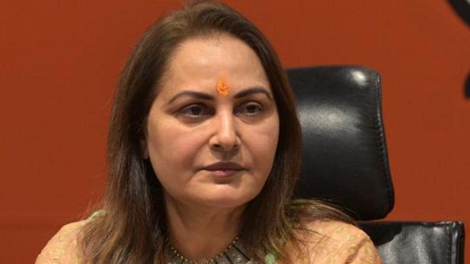 """Jaya Prada had allegedly said, """"Considering the comments Azam Khan makes against me, Mayawati ji you must think his X-ray like eyes will also stare at you),"""" referring to the Bahujan Samaj Party chief whose party is in an alliance with the SP."""