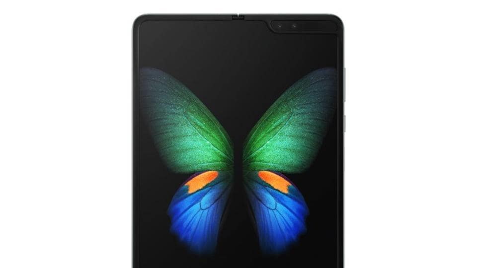 Samsung Galaxy Fold foldable smartphone,foldable phone,Samsung galaxy unpacked 2019
