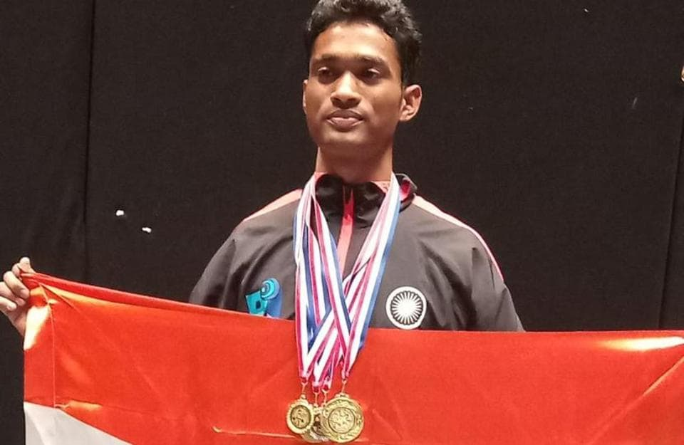 This tribal boy of Lucknow wins gold in Asian Powerlifting