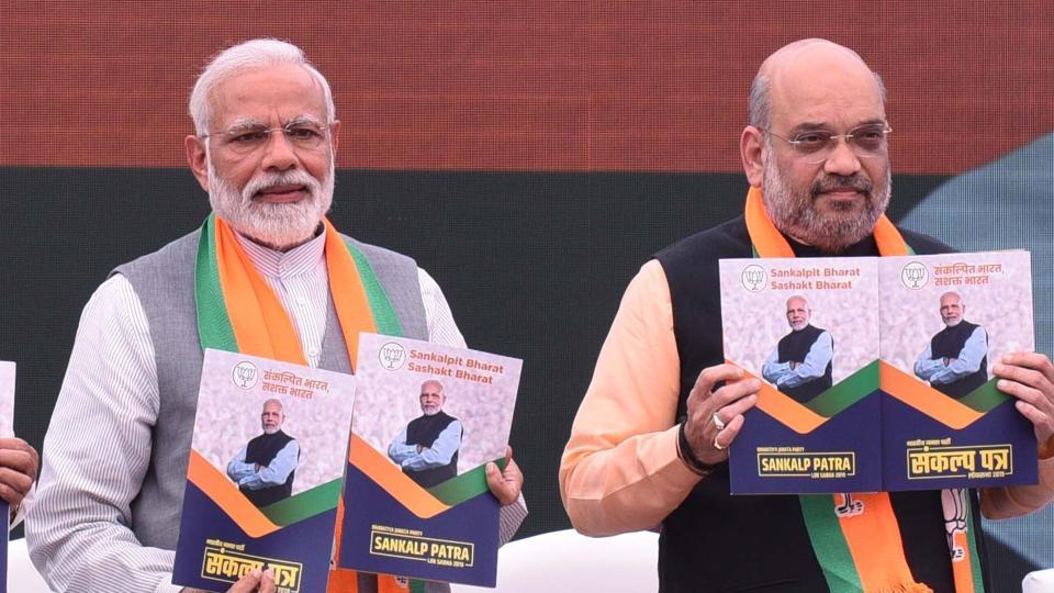 Modi finds mention at least 26 times and features prominently on the cover.