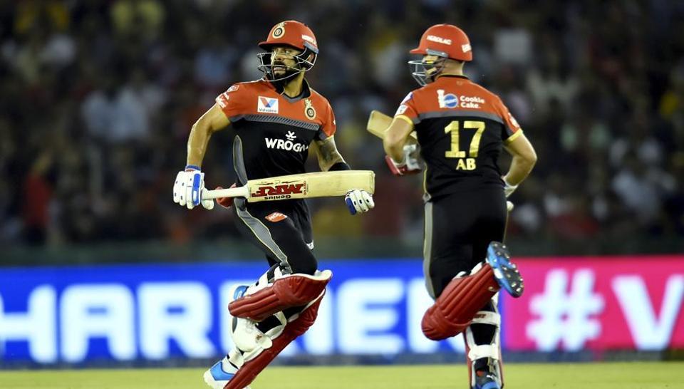 File image of Virat Kohli, AB de Villiers
