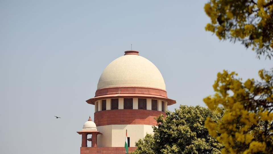 On Wednesday, a review petition was filed by 21 opposition parties in the Supreme Court asking it to order verification of 50 per cent EVMs using the voter-verifiable paper audit trail (VVPAT) machines. The petition was moved after cases of alleged malfunctioning of EVMs were reported from across the nation during the first, second and third phase of the ongoing Lok Sabha elections. (Amal KS / HT File)