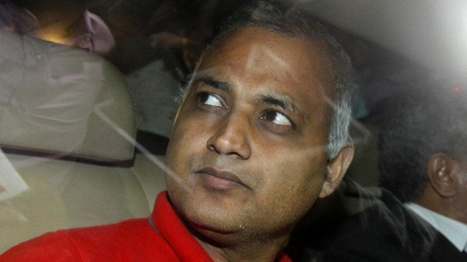 Court frames domestic abuse charge against Somnath Bharti