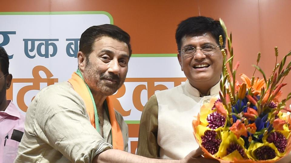 lok sabha elections 2019,sunny deol joins bjp,bjp gurdaspur LS candidate