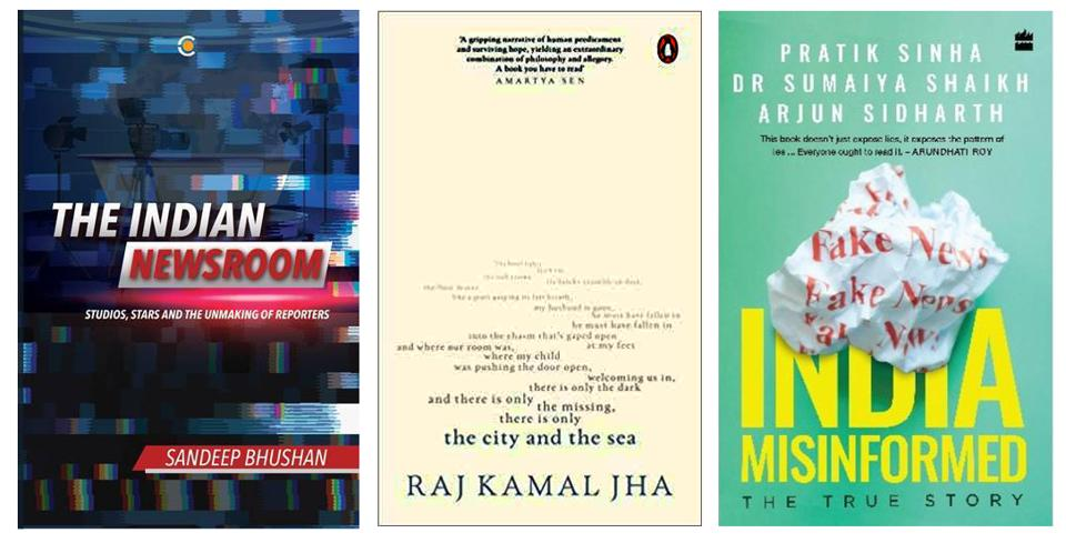 Fake news, the Indian TV newsroom, and a novel on toxic masculinity on our reading list this week!