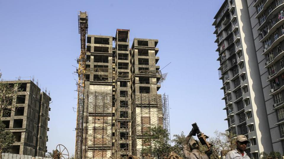 Few things illustrate the malaise in India's property market as starkly as would-be homeowners having to dedicate untold hours to completing the flats they spent years saving up for.