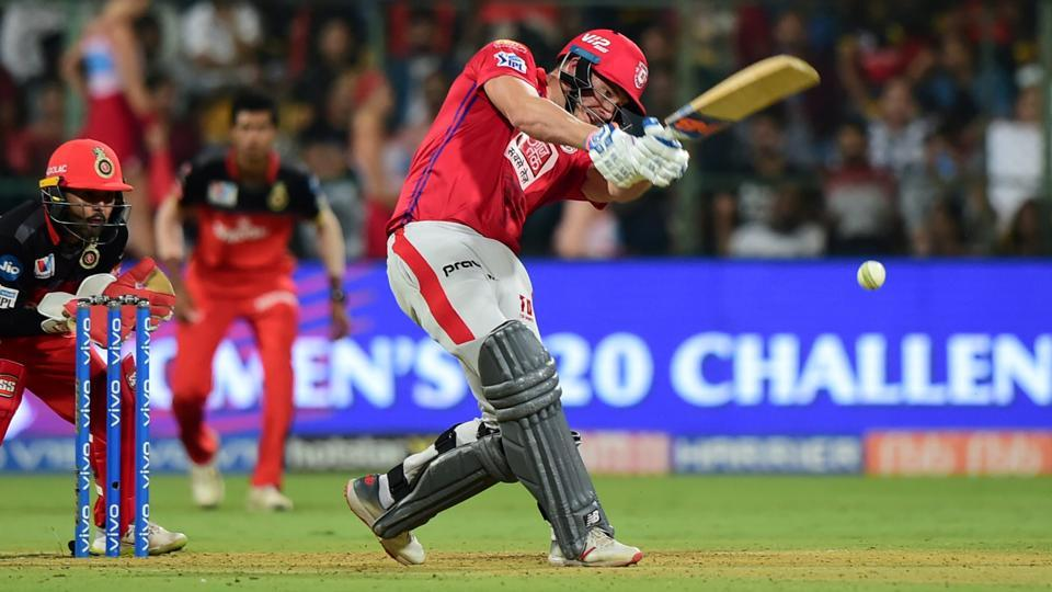 KXIP batsman David Miller plays a shot during the Indian Premier League 2019. (PTI)
