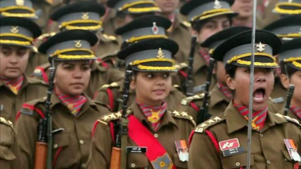 indian army female recruitment,women army,indian army women recruitment