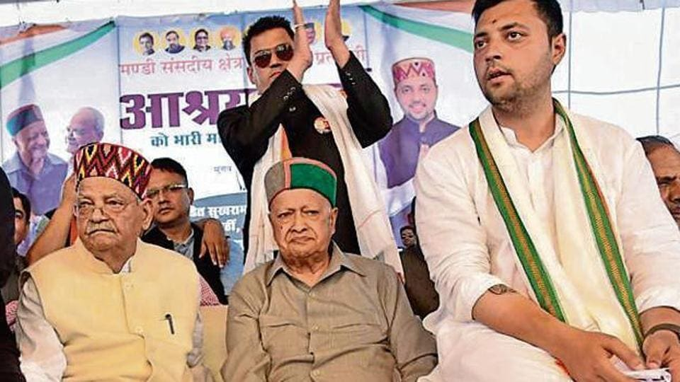 Lok Sabha Elections 2019: Sukh Ram's grandson Aasrhay Sharma files papers for Mandi seat