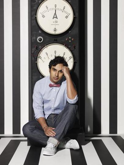Kunal Nayyar plays the Indian astrophysicist, Rajesh Koothrapalli, one of the nerdy scientists on the long-running American sitcom The Big Bang Theory.