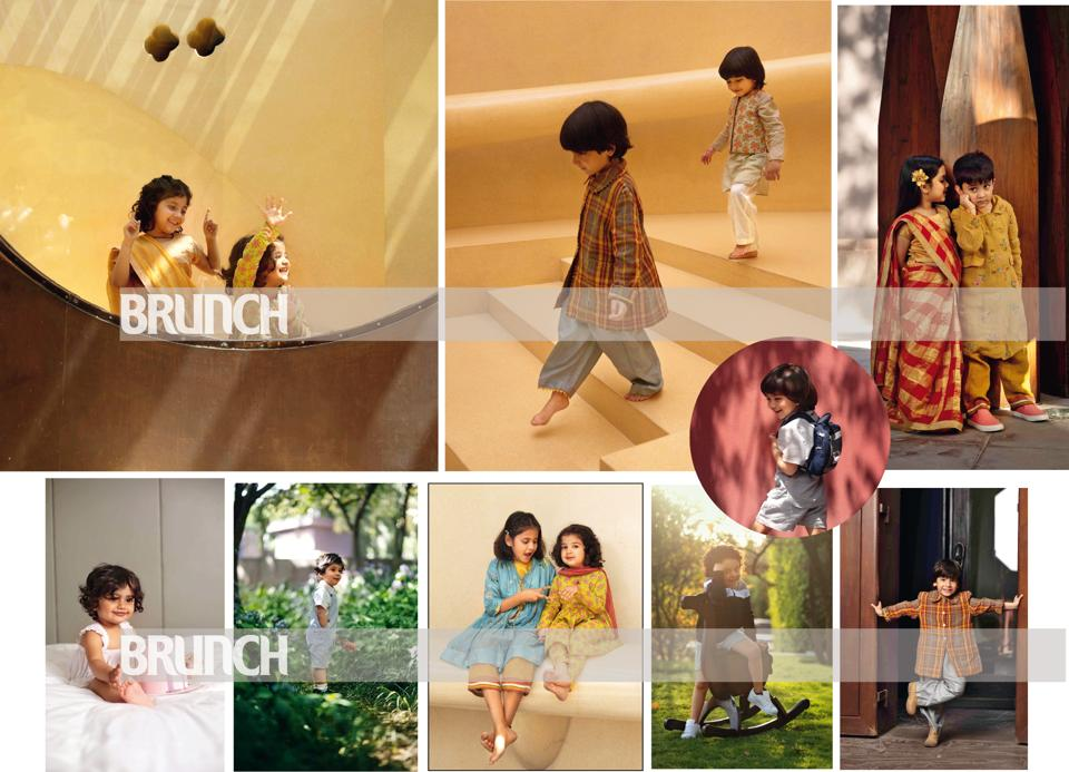 Here's our little guide to dressing up your kids for the most important occasions of their lives (Styling: Drishti Vij; make-up and hair: Artistry by Anjali Jain; art direction: Amit Malik; location courtesy: The Roseate. New Delhi; photography assistant: Aakanksha Chawla)