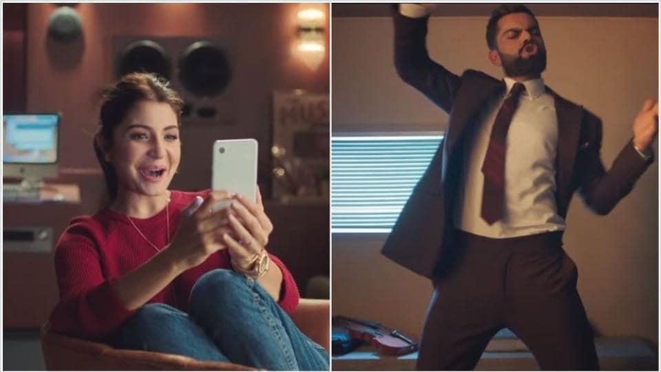 Anushka Sharma and Virat Kohli feature in an ad together again.