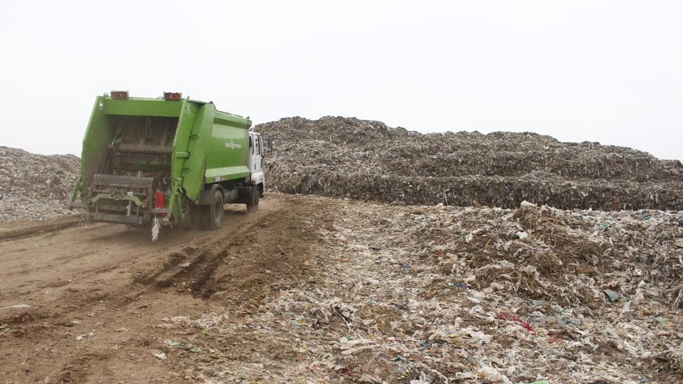 """The National Green Tribunal (NGT) came down heavily on the Municipal Corporation of Gurugram (MCG) and Ecogreen Energy, its concessionaire for waste management in the city, earlier this week, for the """"sorry state of affairs"""" at the Bandhwari landfill site."""
