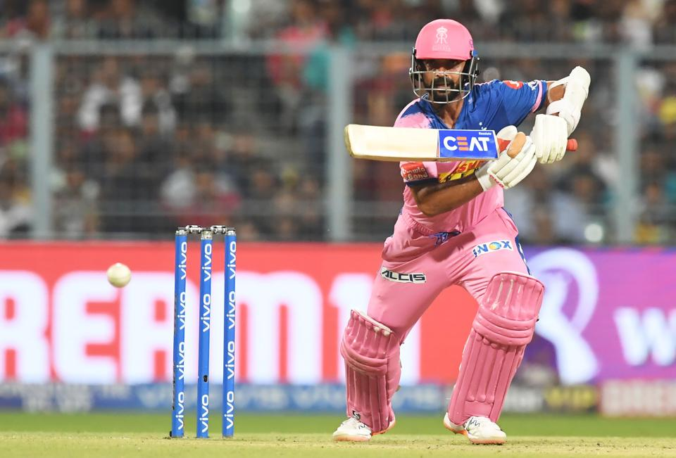 Ajinkya Rahane and Sanju Samson put Rajasthan in the driver's seat with a 53-run opening stand. (AFP)