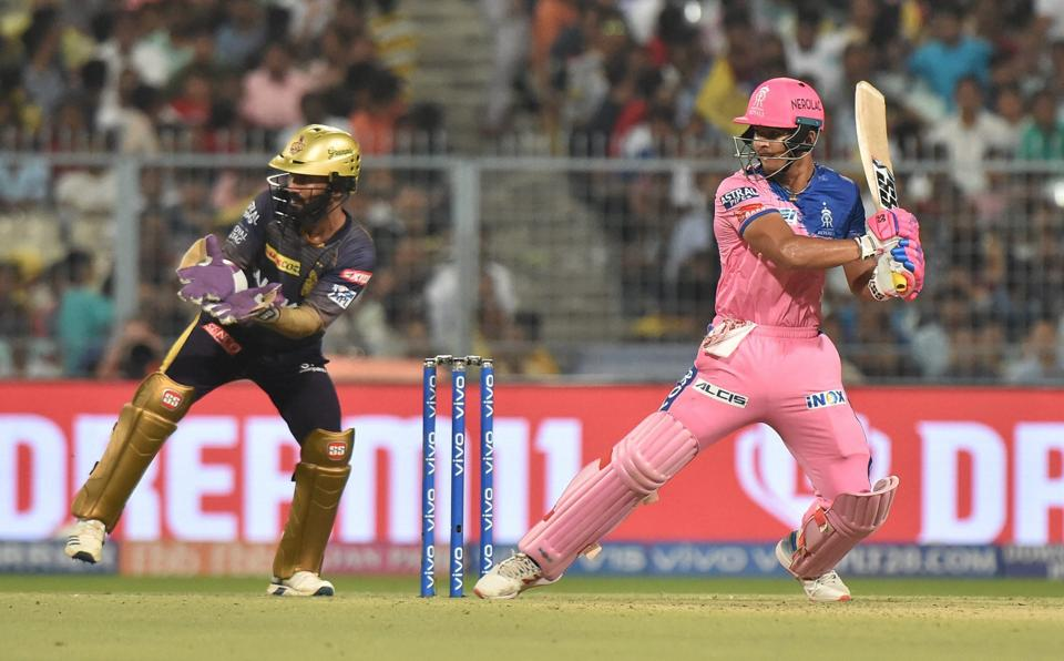 Thereafter, Riyan Parag strung important partnerships with Shreyas Gopal and Jofra Archer to put Rajasthan's chase back on track. (PTI)