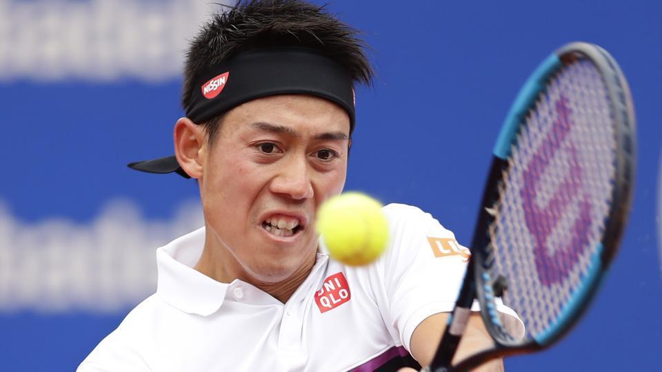 Kei Nishikori,Roberto Carballes Baena,Barcelona Open