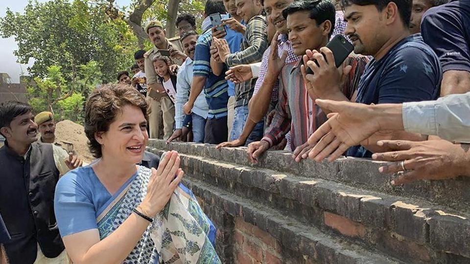 Priyanka Gandhi,Uttar Pradesh,BJP