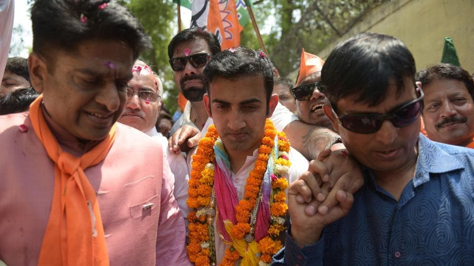 The Aam Aadmi Party (AAP) on Friday accused former cricketer Gautam Gambhir, the BJP's East Delhi candidate, of possessing two voter ID cards and moved a Delhi court to investigate the matter..