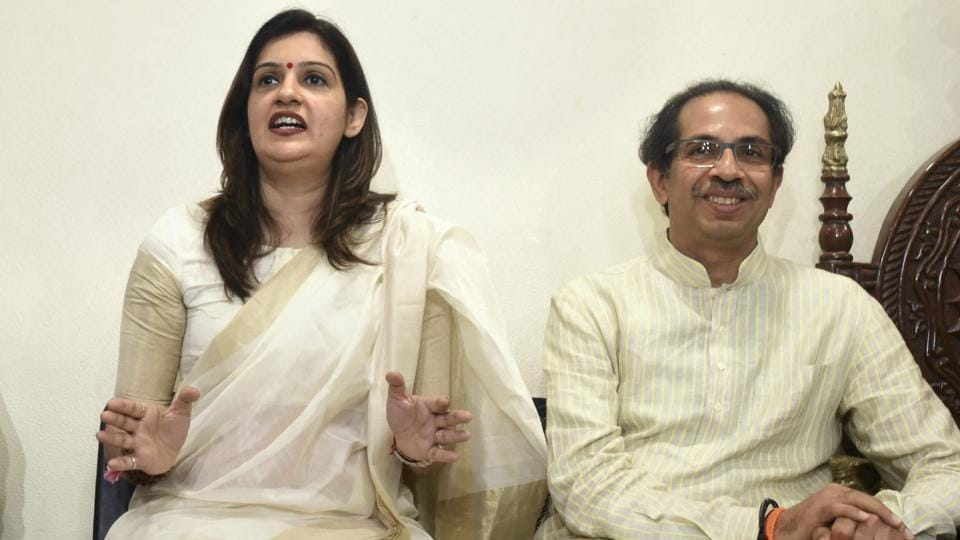 "The Shiv Sena appointed former Congress spokesperson Priyanka Chaturvedi as its ""upneta"" or deputy leader."