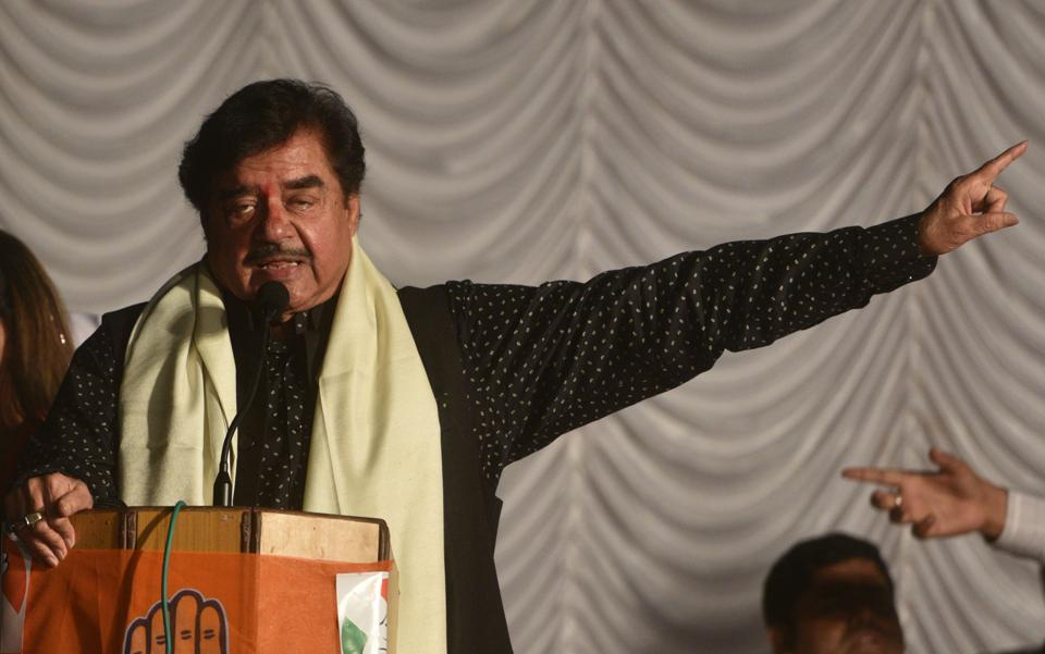 Shatrughan Sinha recently left BJP and joined Congress.