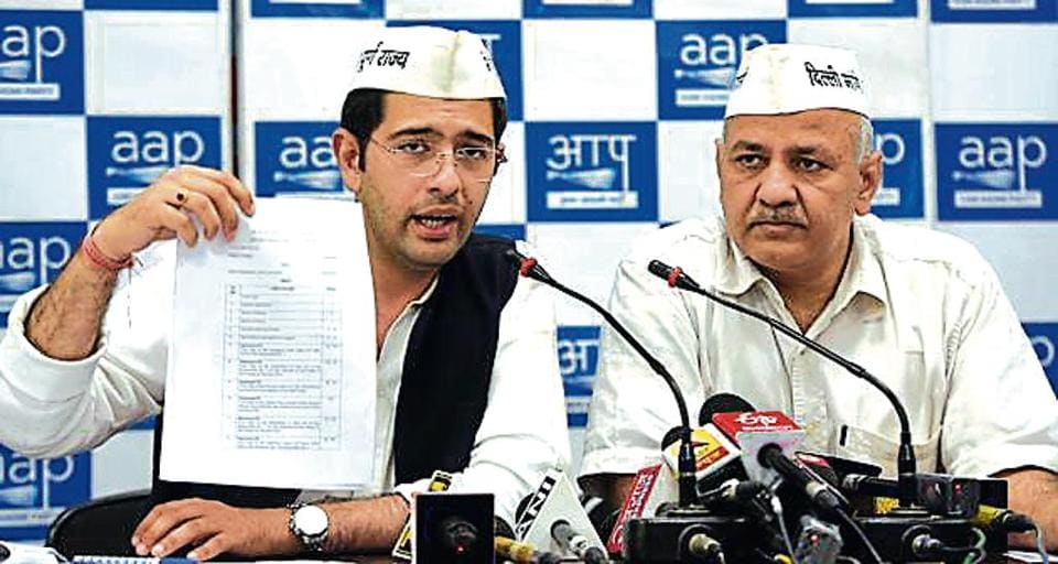 AAP's South Delhi candidate Raghav Chadha moved the high court against Ramesh Bidhuri for allegedly concealing information in his affidavit to the Election Commission of India.