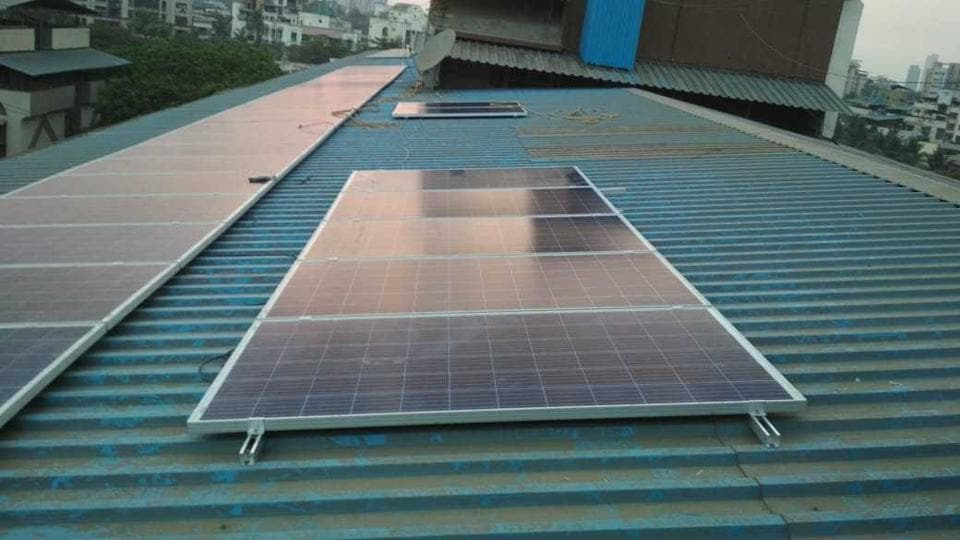 Residents of Alaknanda Cooperative Housing Society (CHS), which has 183 flats in nine buildings, installed the rooftop system — spread across 10,000 sqft area, having 100 panels — at a cost of ₹20 lakh in March.